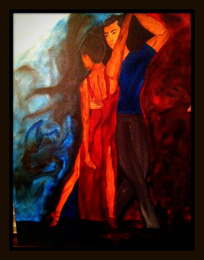 Tango by A. Joleigh © 2014 SOLD