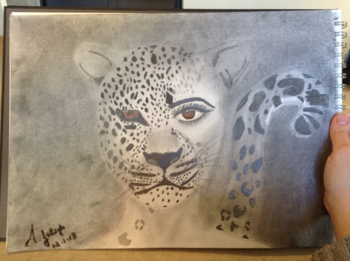 Leopard Woman by A. Joleigh 2013