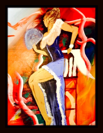 Fan Dancer by A. Joleigh ©2013