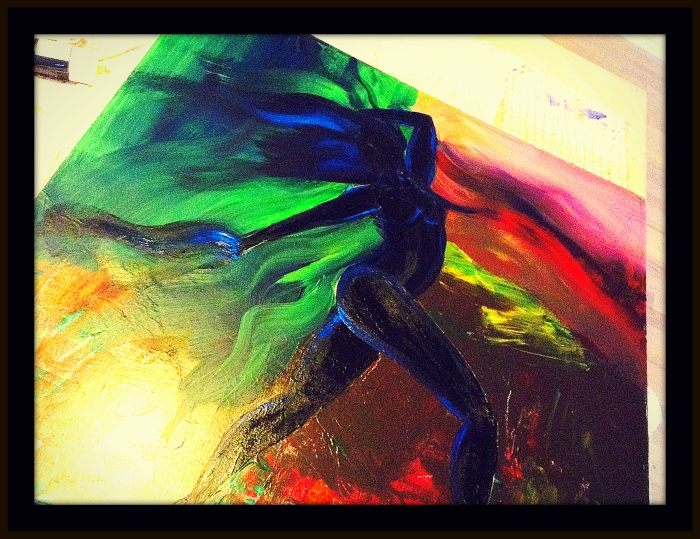 Shadow Dancer by A. Joleigh ©2013 SOLD