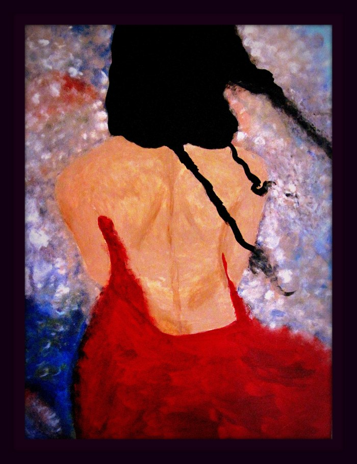 Abandoned by A. Joleigh ©2014  Sister painting to Flamenco II