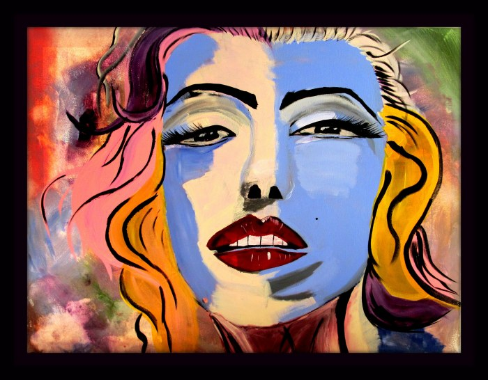 Marilyn Monroe by A. Joleigh ©2014