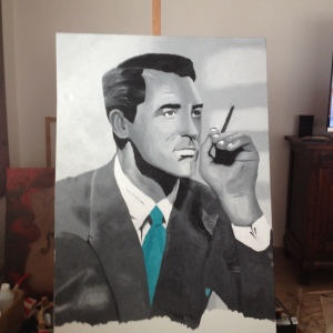 Cary Grant by A. Joleigh